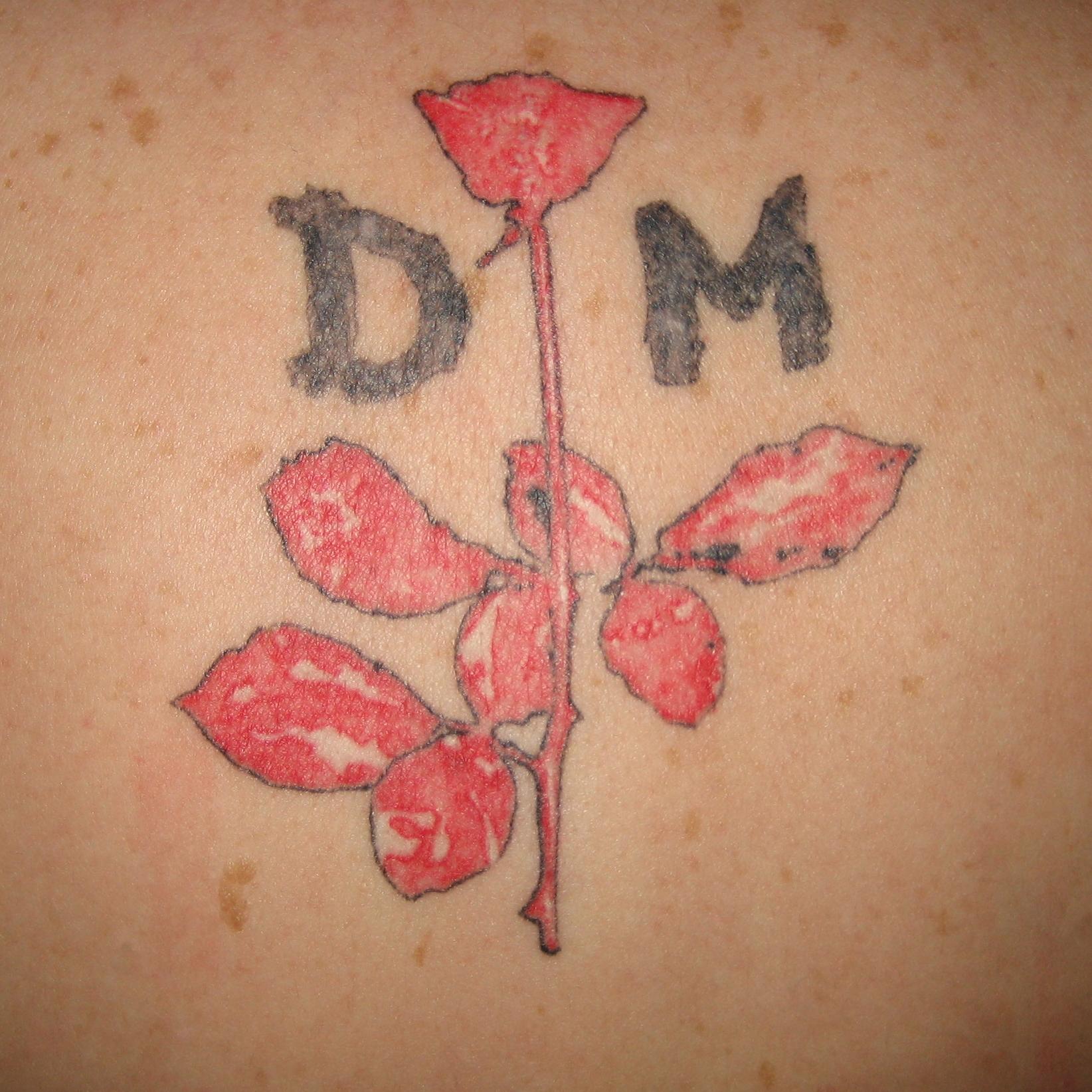 depeche mode violator tattoo - photo #12